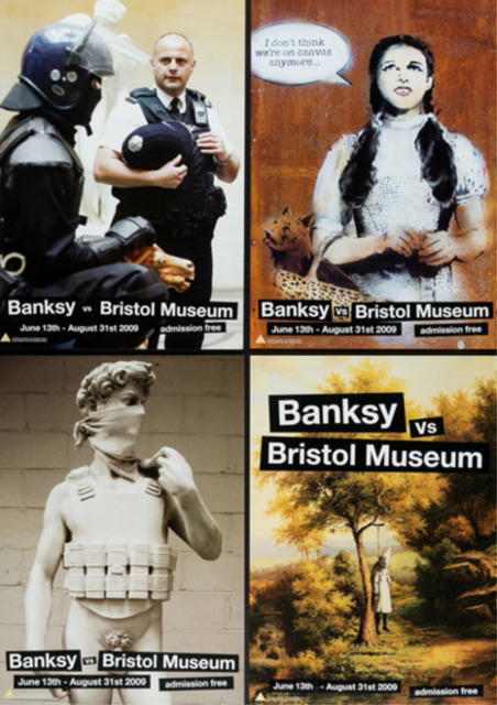 Banksy, 'Banksy vs The Bristol Museum (Set of 4)', 2009, End to End Gallery