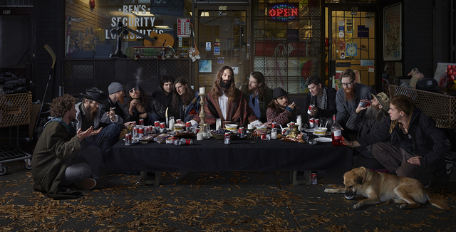 , 'Last Supper,' 2014, Madison Gallery