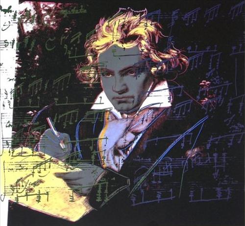 Andy Warhol, 'BEETHOVEN II.393', 1987, Print, Screenprint on Lenox Museum Board, OSME Fine Art