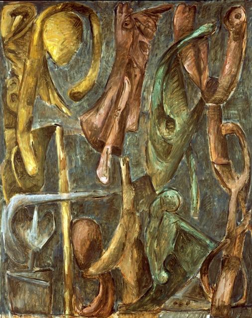 Markus Lüpertz, 'Engelsturz, 1988', 1988, Ditesheim & Maffei Fine Art