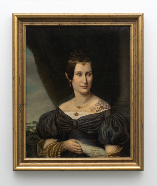 , 'Portrait of a woman with tattoo,' , 303 Gallery