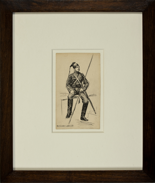 , 'Russian Lancer,' ca. 1899, Thurston Royce Gallery of Fine Art, LTD.