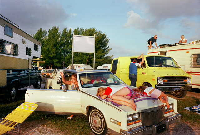 , 'Cocoa Beach I, Série Recreation,' 1983, Galerie Les filles du calvaire