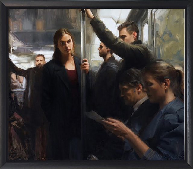 , 'In The Metro,' 2016, ARCADIA CONTEMPORARY