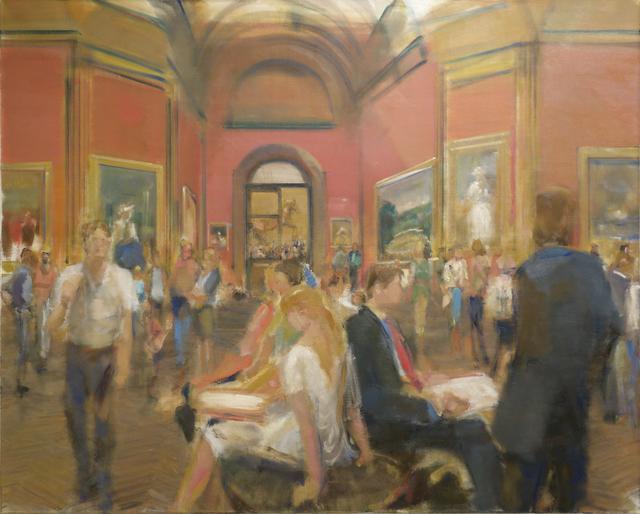 Simon Nicholas, 'National Gallery III', 2014, Gallery Henoch