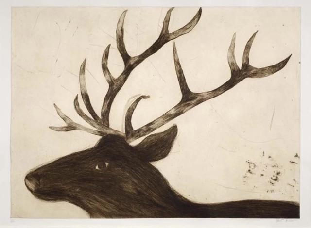 , 'Stag,' 2017, Wychwood Art