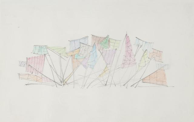 , 'Voie 3,' 2014, Galerie Laurence Bernard
