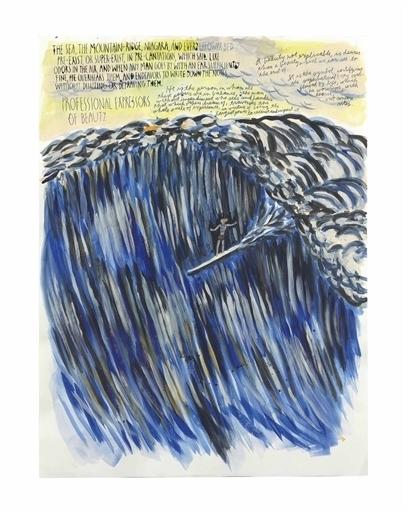 Raymond Pettibon, 'Untitled (The sea the)', Christie's