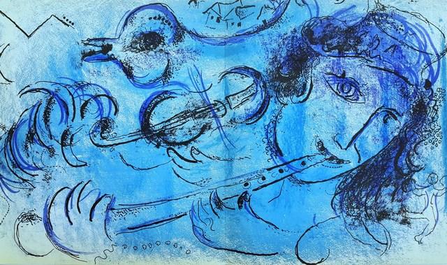 Marc Chagall, 'The Flute Player', 1957, Graves International Art