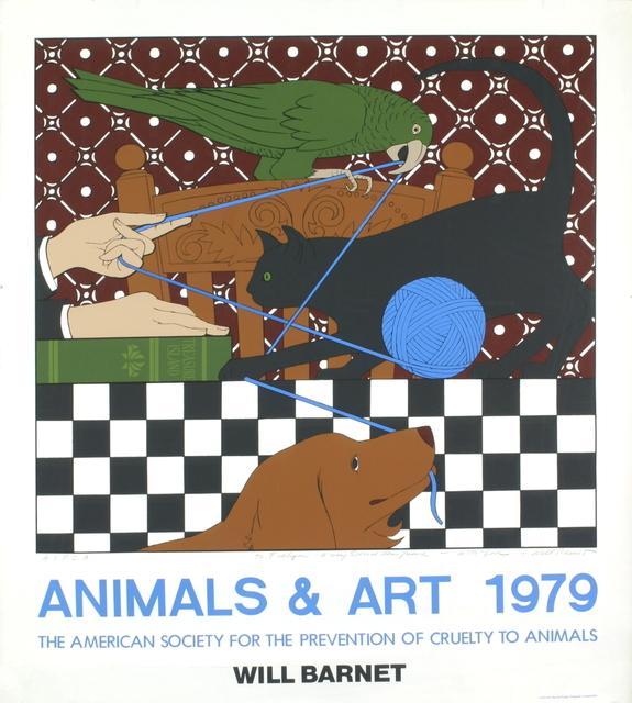 Will Barnet, 'Animals & Art', 1979, ArtWise