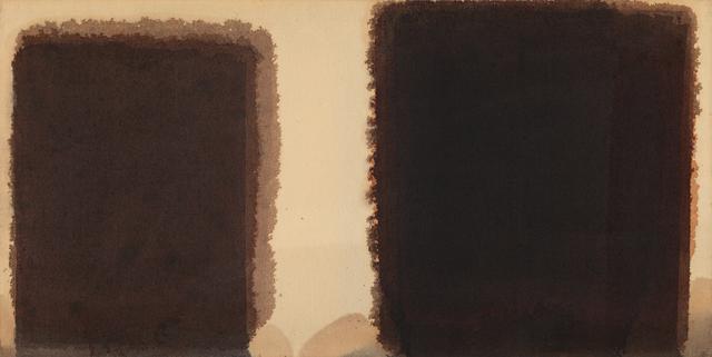 , 'Burnt Umber & Ultramarine,' 1981-1985, PKM Gallery