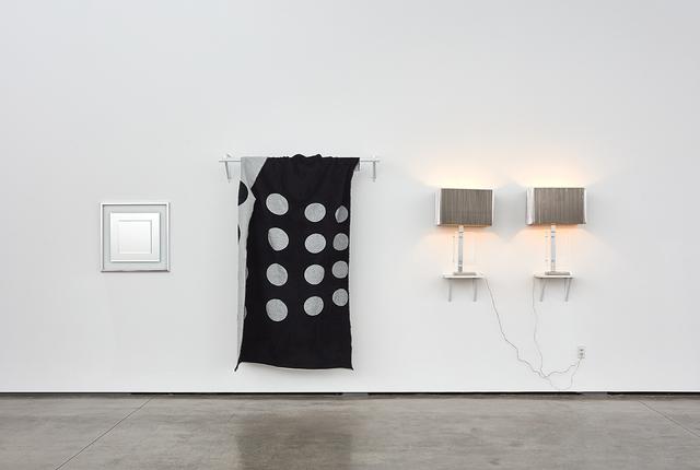 John M. Armleder, 'Silver Fish Silver Fish Silver Fish, (Furniture Sculpture)', 2016-2017, David Kordansky Gallery