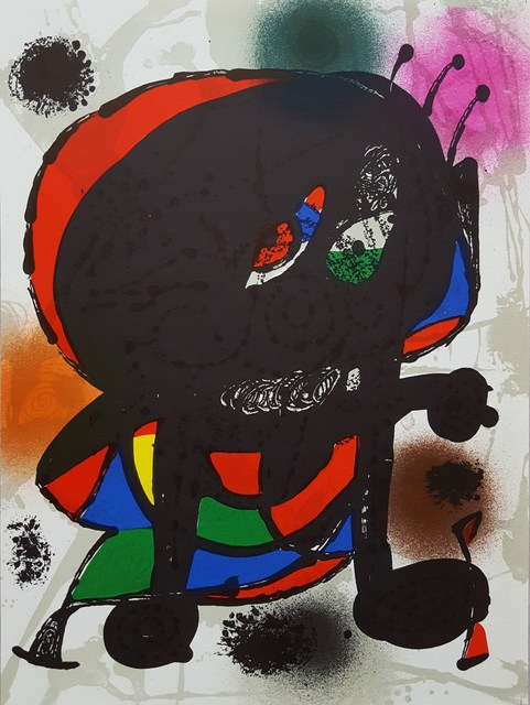 Joan Miró, 'Untitled (Figure 1115)', 1977, Graves International Art