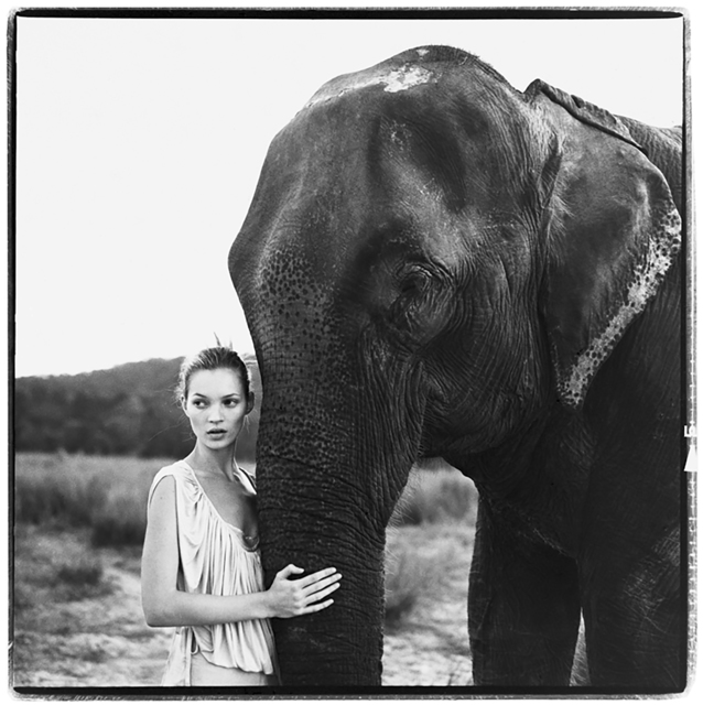 Arthur Elgort, 'Kate Moss, Nepal, VOGUE UK,' 1994, Staley-Wise Gallery