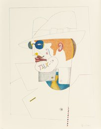 Richard Lindner, 'Talk to Me,' 1970, Heritage Auctions: Holiday Prints & Multiples Sale
