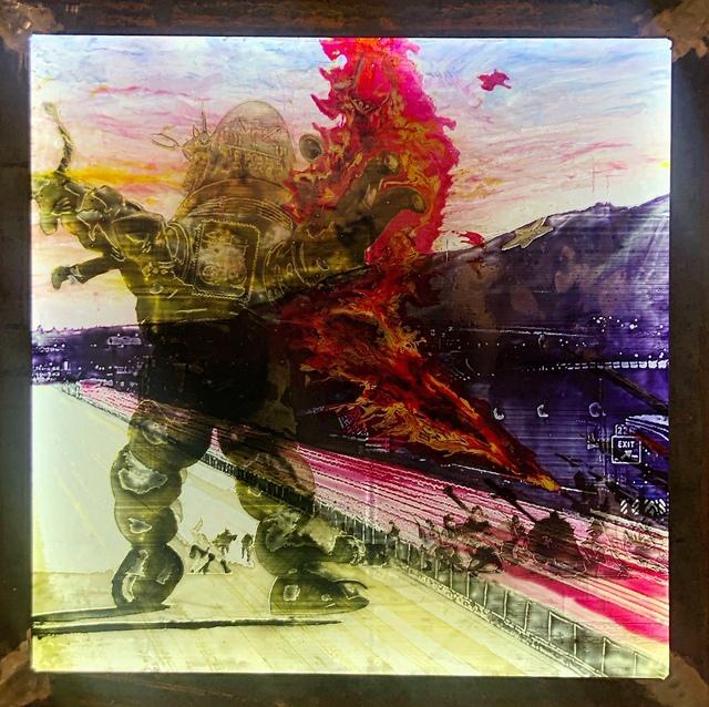 , 'Battle for El Chuco 2.0,' 2019, Ro2 Art