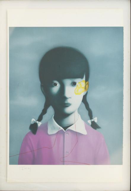 Zhang Xiaogang, 'Girl in Purple - Planche No. 15', 33 Auction