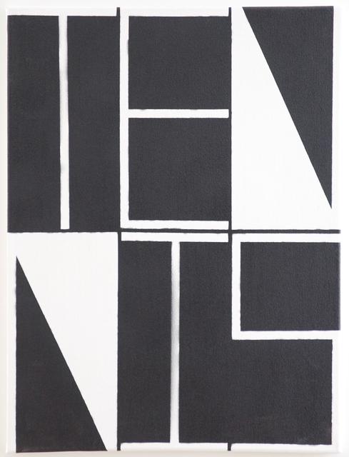 , 'Black and White Tennis,' 2014, Xippas
