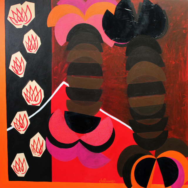 Tiffanie Delune, 'Lobsters and Desire', 2018, Ed Cross Fine Art