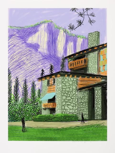 David Hockney, 'The Yosemite Suite No. 23', 2010, Galerie Lelong & Co.