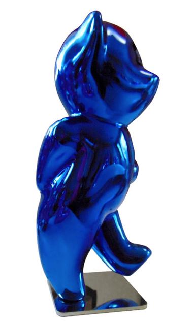 , 'Cévé, Moony Blue,' 2018, Oliver Cole Gallery