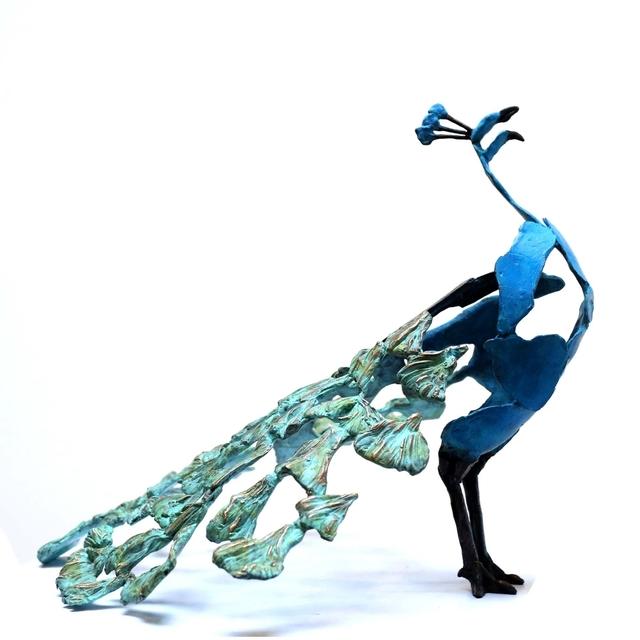 , ''Calling Peacock',' 2018, Galerie Terbeek