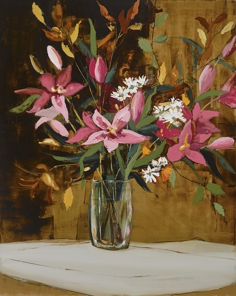 , 'Pink Lillies,' 2019, SOL Art Gallery
