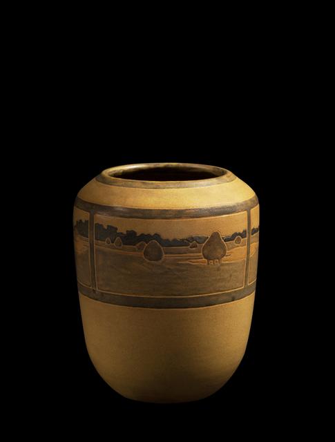 , ''Landscape' Vase,' ca. 1909, Oscar Graf