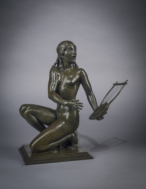 , 'Lyric Muse,' 1912, Hirschl & Adler Galleries