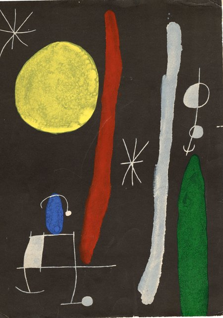 Joan Miró, 'Derrière le Miroir #164-165 ', 1967, World of WonderMei