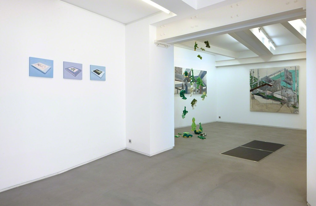 Installation view, 'Los Angeles Contemporary Tendencies' curated by Annka Kultys at Helene Bailly Gallery, Paris 2012