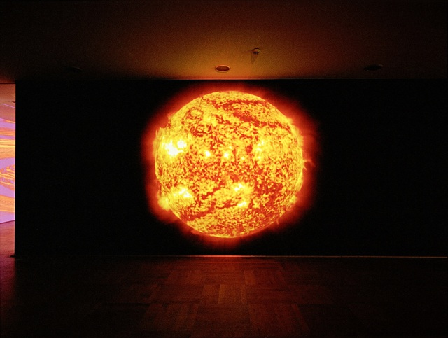 , 'DIE SONNE UM MITTERNACHT SCHAUEN (RED),' 2010, KW Institute for Contemporary Art