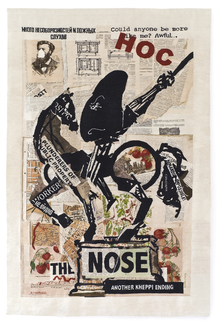 William Kentridge, 'The Nose (with Strawberries)', 2012, Whitechapel Gallery