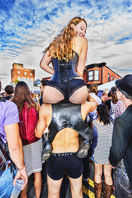 Mitchell Funk, 'Folsom Street Fair, BDSM Leather Event #24', 2015, Robert Funk Fine Art