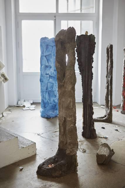 Michael Dean, 'analogue series', 2015, Sculpture, Concrete, soil, black paint, Supportico Lopez