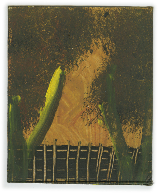 , 'Landscape Series: Orange Sky and Fence with Trees,' , Ingleby Gallery