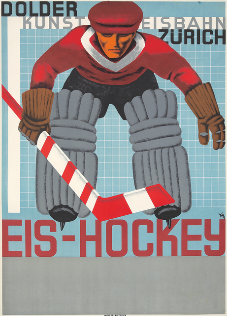 , 'Eis-Hockey.,' 1935, Rennert's Gallery