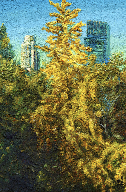 , 'Central park,' 2017, Leehwaik Gallery