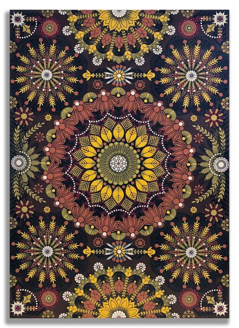 , 'Kaleidoscopic Nature 1,' 2018, Jonathan LeVine Projects