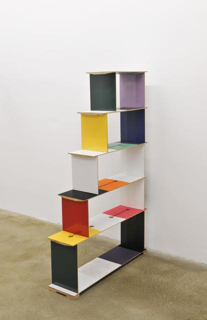 , 'Möbel (color chart),' 2011, Galerie Martin Janda