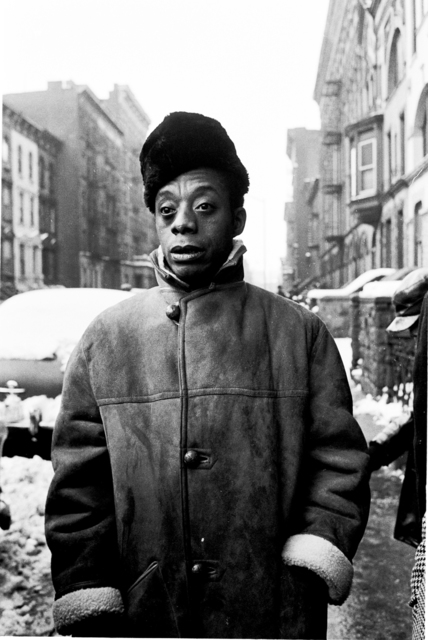 , 'James Baldwin, Harlem, New York,' 1963, Monroe Gallery of Photography