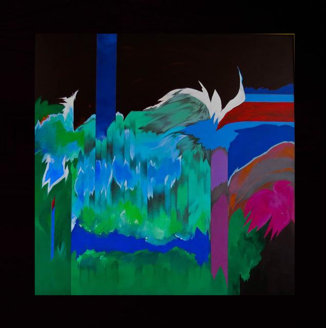 , 'Garden,Wave and Waterfall,' 2001, Anita Shapolsky Gallery