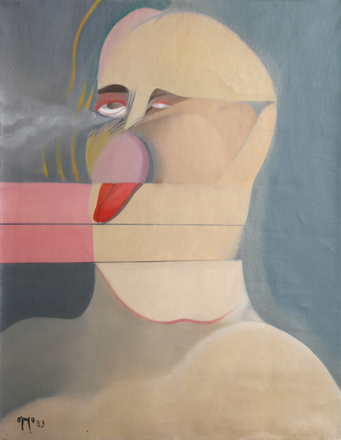 Rodolfo Opazo Bernales, 'Cabeza', 1983, Painting, Oil on Canvas, RoGallery
