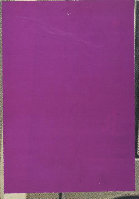 , 'Petit blank violet,' 1981, CARDI GALLERY