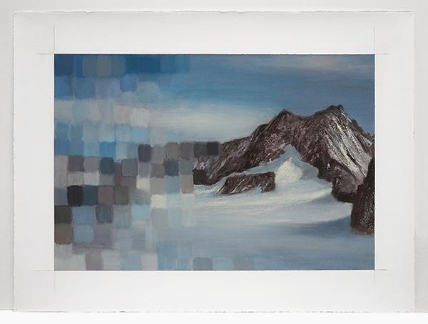 , 'Mt. Blanc: Broken,' 2014, Nohra Haime Gallery