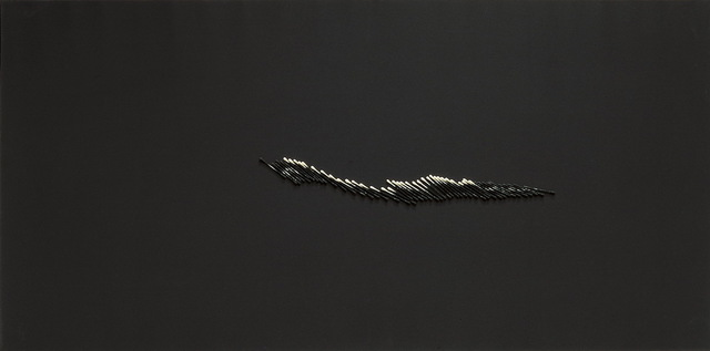 Chu Weibor, 'Revelation 展', 2001, Mixed Media, Linen, cotton swabs, ink, Asia Art Center