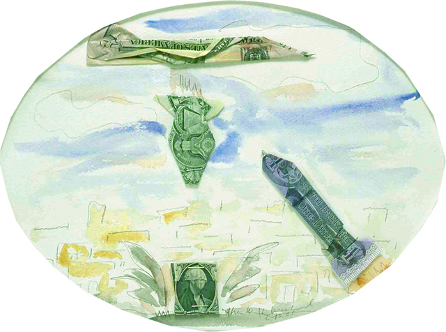 , 'Dollar for Dinar (Scud),' 2005, Rosamund Felsen Gallery