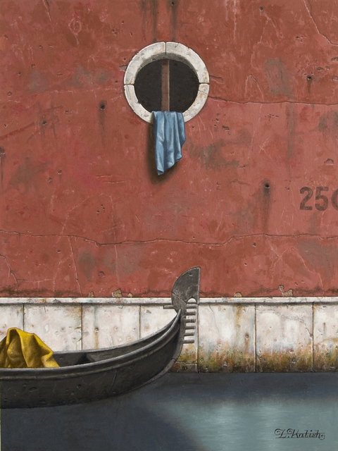 , 'Red Wall and Gondola,' 2014, Clark Gallery