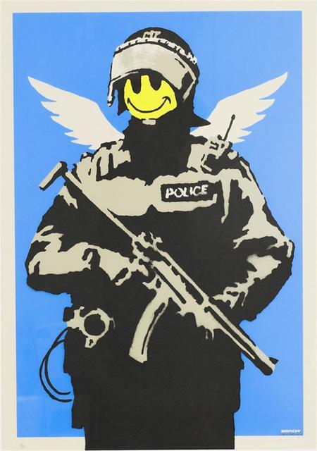 Banksy, 'Flying Copper', 2003, Stowe Gallery