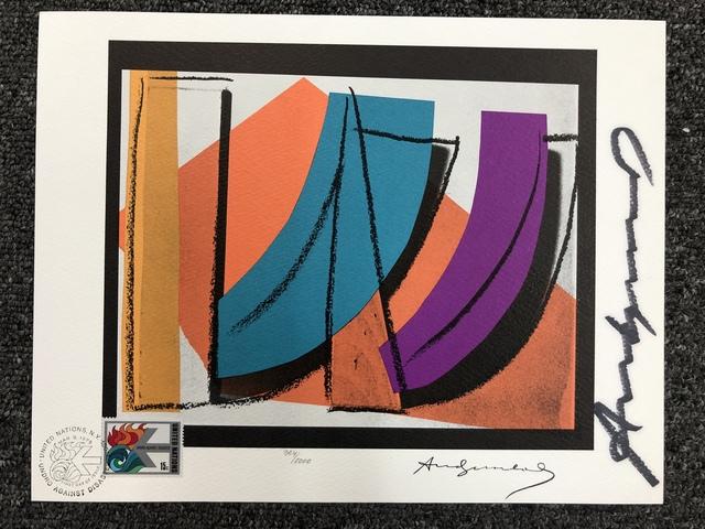 Andy Warhol, 'U.N. Stamp (FS II.185)', 1979, DANE FINE ART